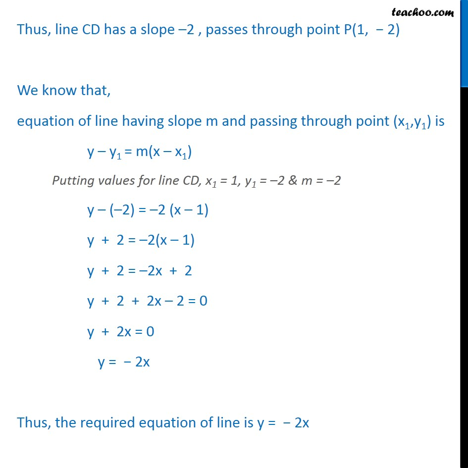 Example 17 - Chapter 10 Class 11 Straight Lines - Part 3