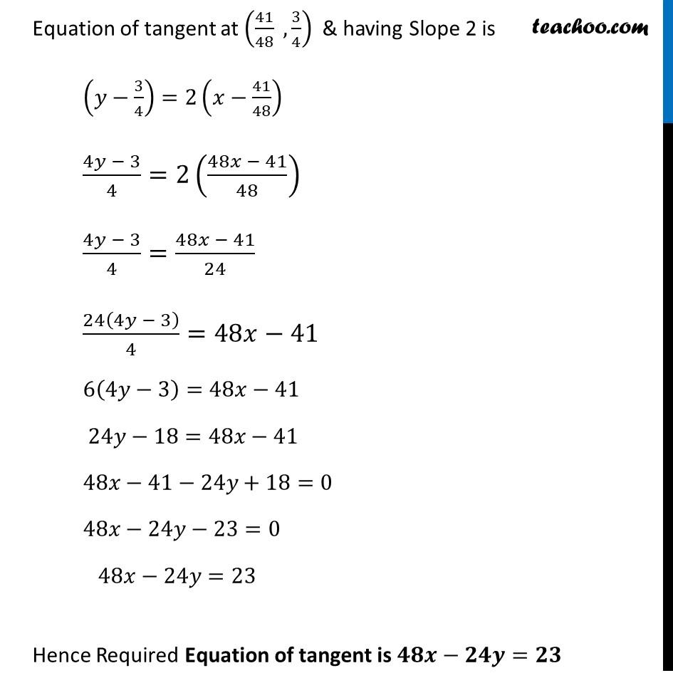 Ex 6.3,25 - Chapter 6 Class 12 Application of Derivatives - Part 6