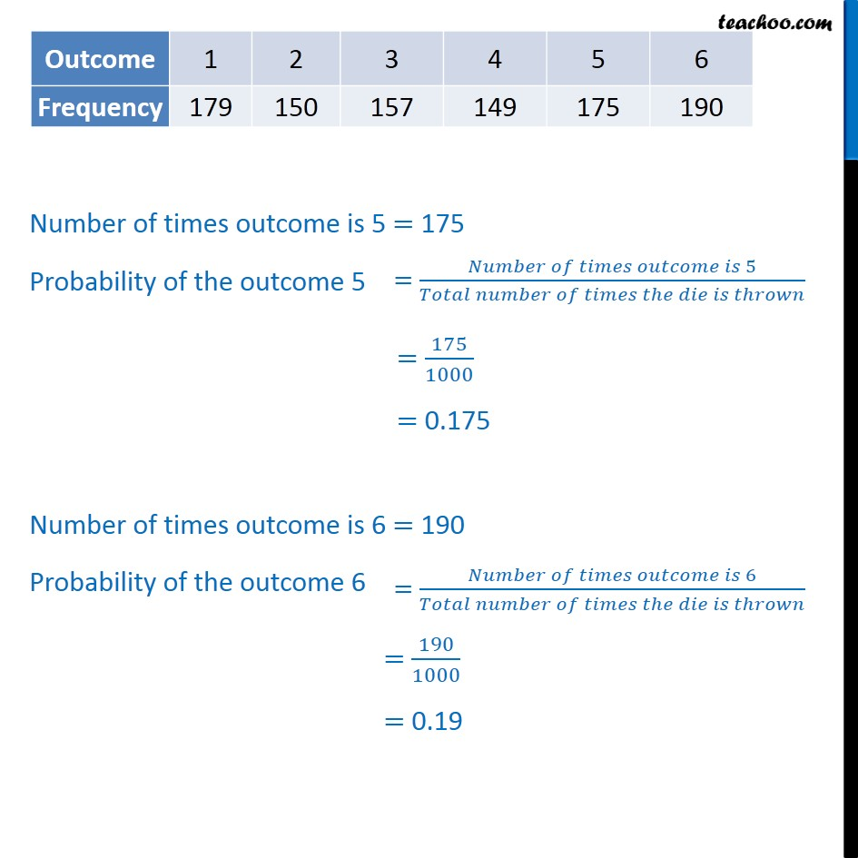 Example 3 - Chapter 15 Class 9 Probability - Part 3