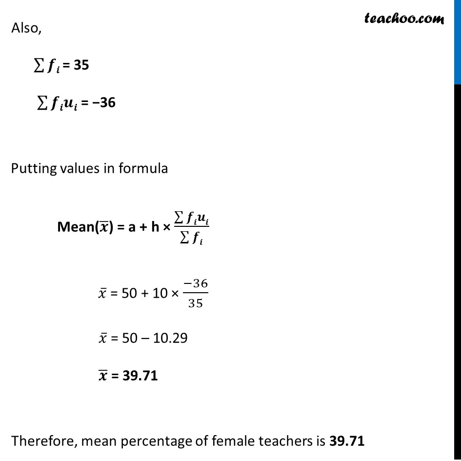 Example 2 - Chapter 14 Class 10 Statistics - Part 3