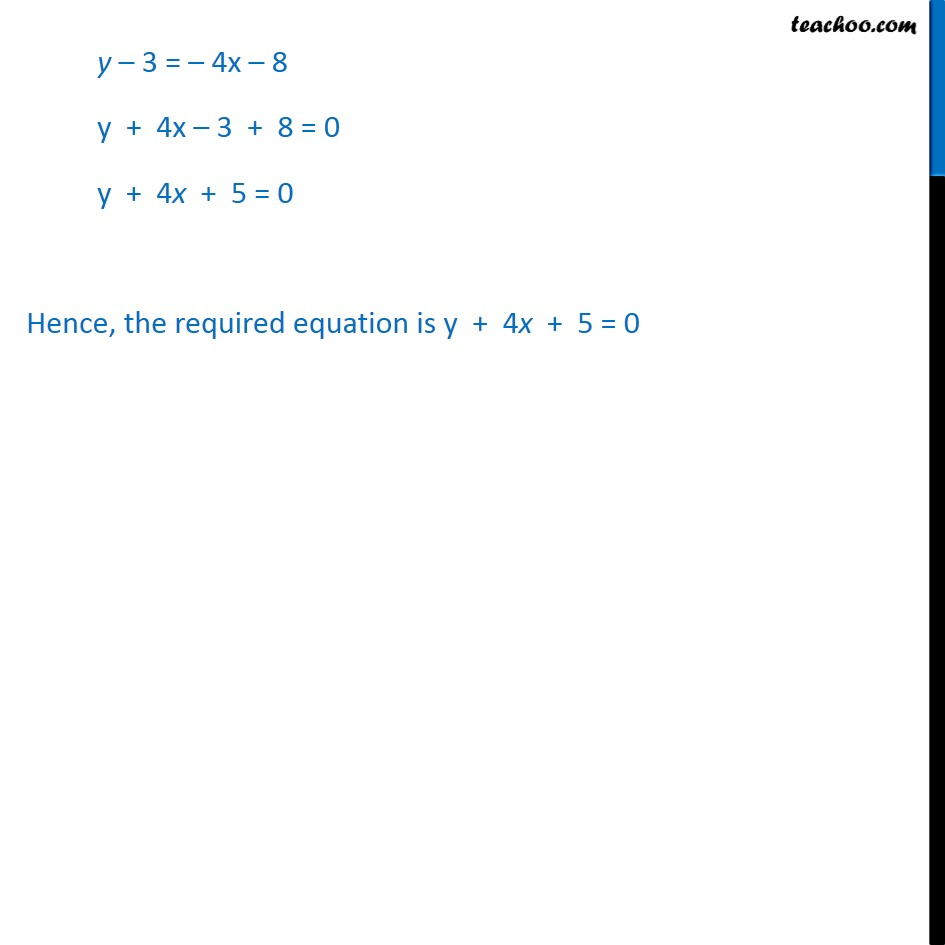 Example 7 - Chapter 10 Class 11 Straight Lines - Part 2