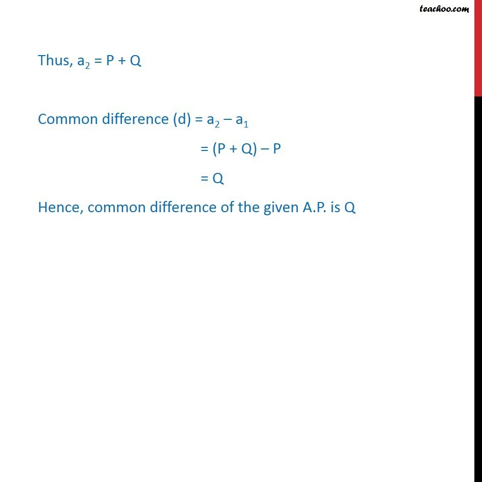 Example 5 - Chapter 9 Class 11 Sequences and Series - Part 3