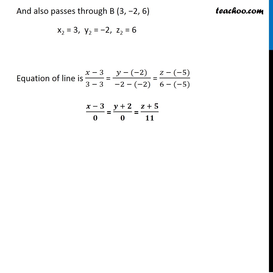 Ex 11.2, 9 - Chapter 11 Class 12 Three Dimensional Geometry - Part 3