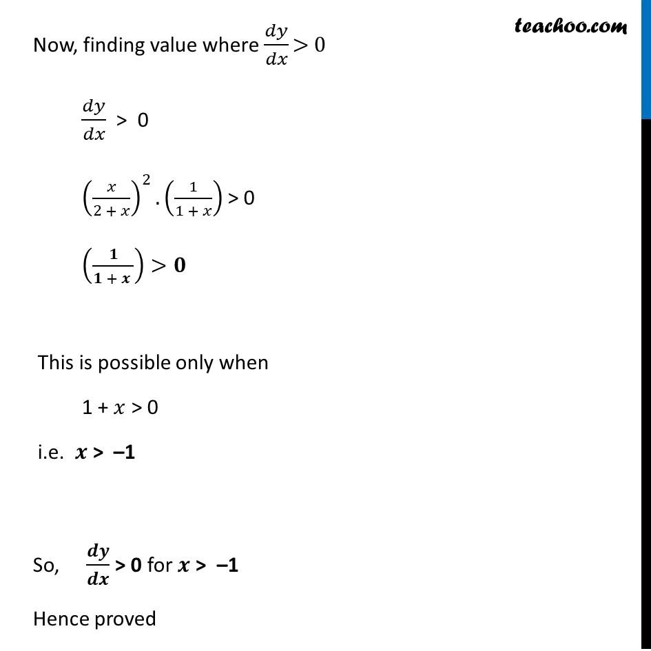 Ex 6.2,7 - Chapter 6 Class 12 Application of Derivatives - Part 4