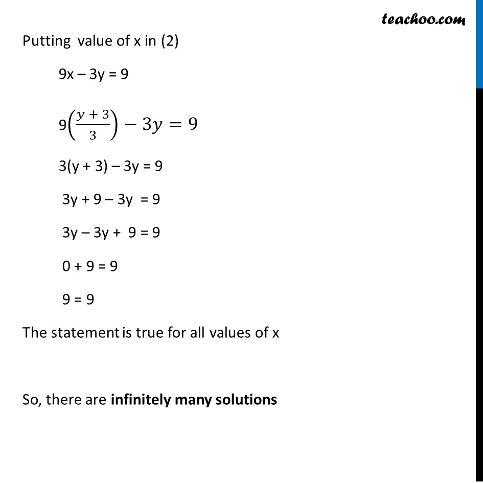 Ex 3.3, 1 - Chapter 3 Class 10 Pair of Linear Equations in Two Variables - Part 8