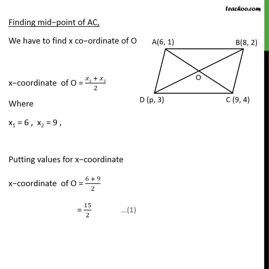 Example 10 - Chapter 7 Class 10 Coordinate Geometry - Part 2