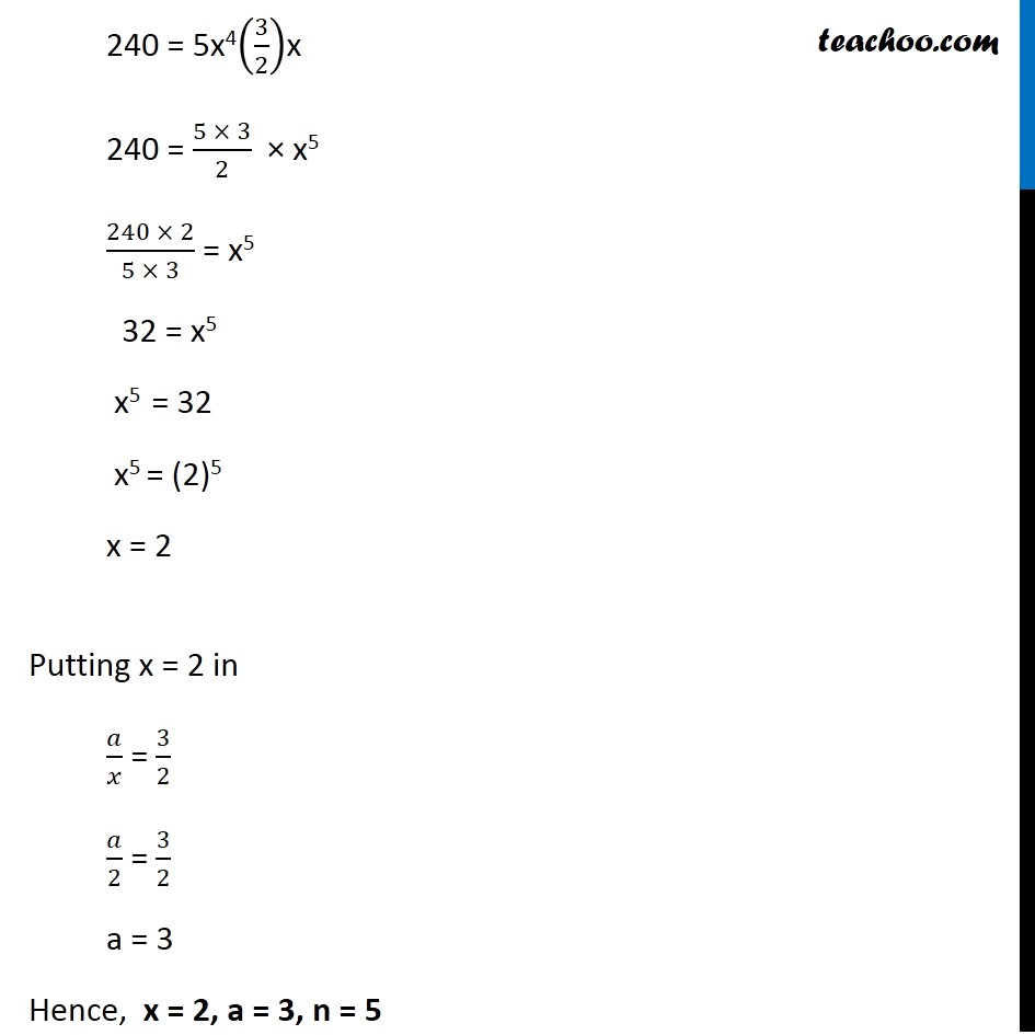 Example  8 - Chapter 8 Class 11 Binomial Theorem - Part 8