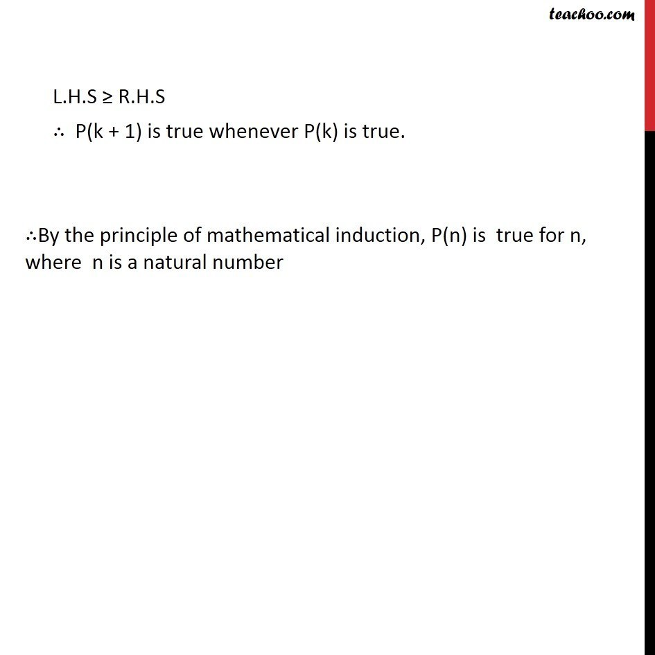 Example 5 - Chapter 4 Class 11 Mathematical Induction - Part 4