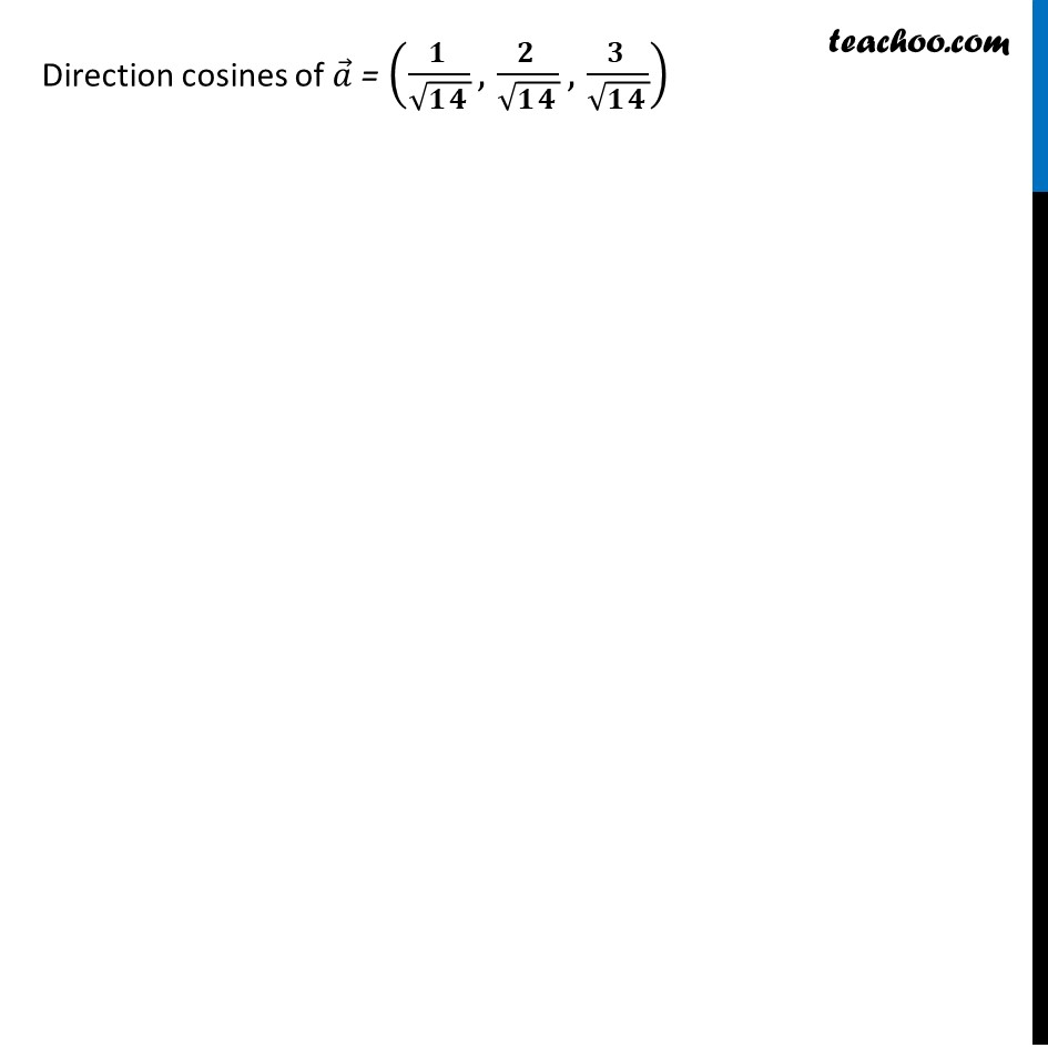 Ex 10.2, 12 - Chapter 10 Class 12 Vector Algebra - Part 2