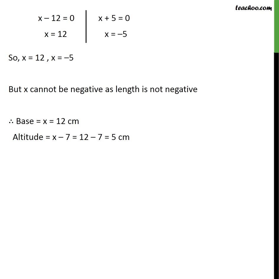 Ex 4.2, 5 - Chapter 4 Class 10 Quadratic Equations - Part 3
