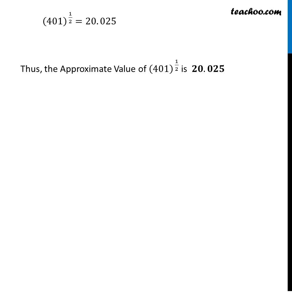 Ex 6.4, 1 (x) - Chapter 6 Class 12 Application of Derivatives - Part 4