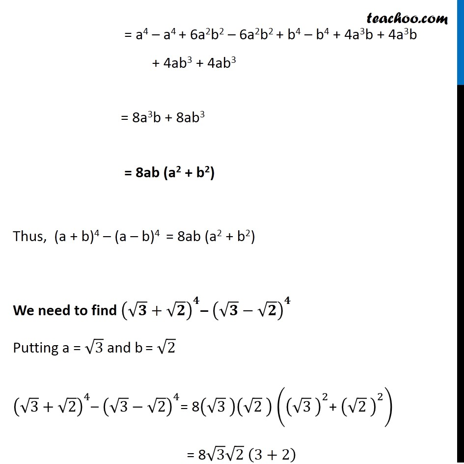 Ex 8.1,11 - Chapter 8 Class 11 Binomial Theorem - Part 3