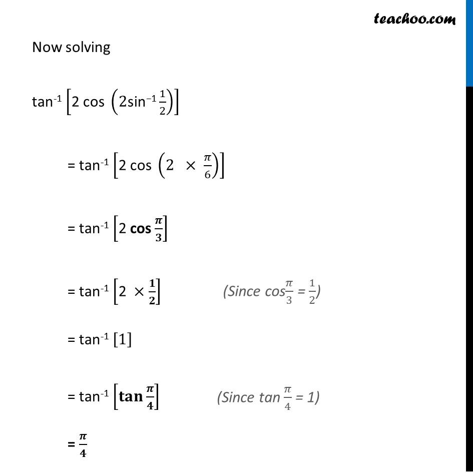 Ex 2.2, 11 - Chapter 2 Class 12 Inverse Trigonometric Functions - Part 2