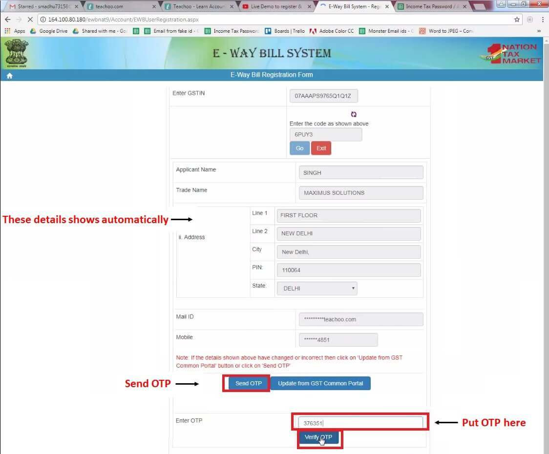 4. Enter Details and click Send OTP then enter OTP Then click Verify OTP.jpg