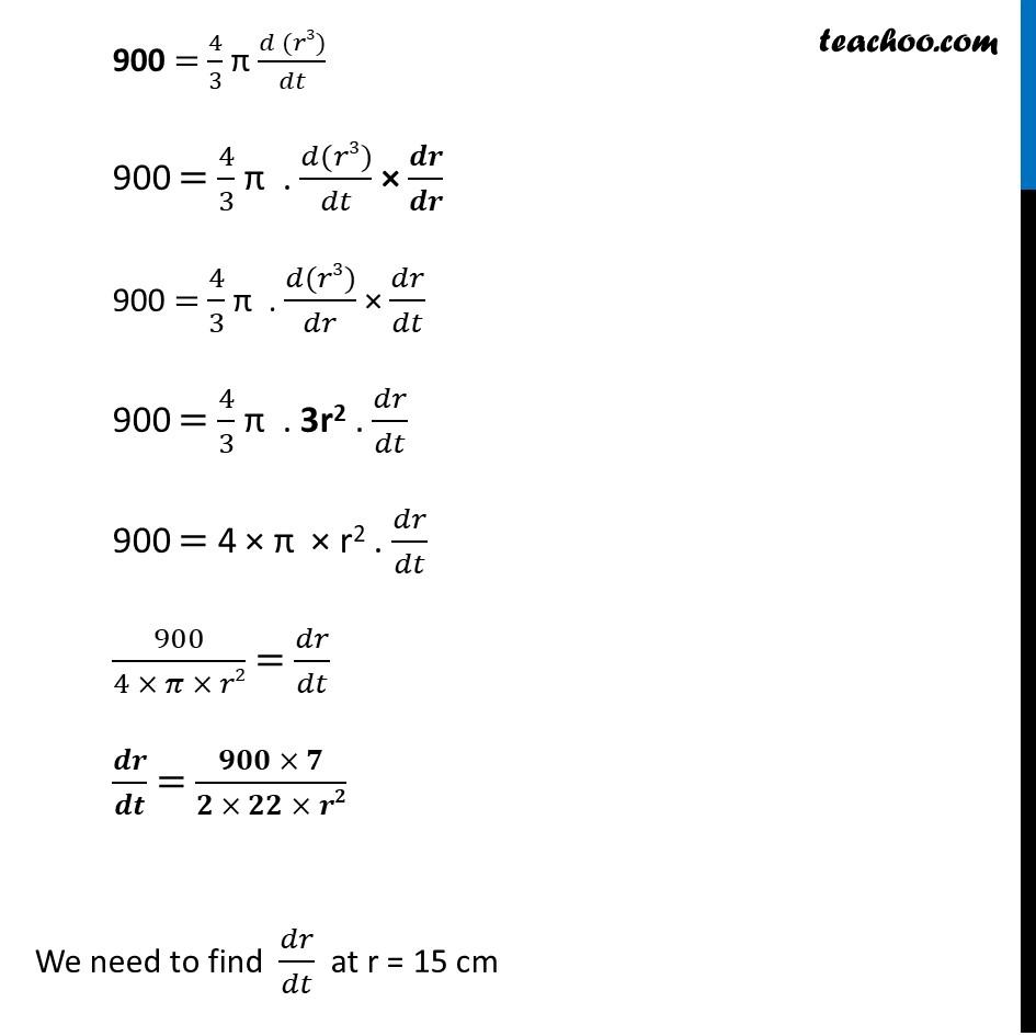 Ex 6.1,8 - Chapter 6 Class 12 Application of Derivatives - Part 3