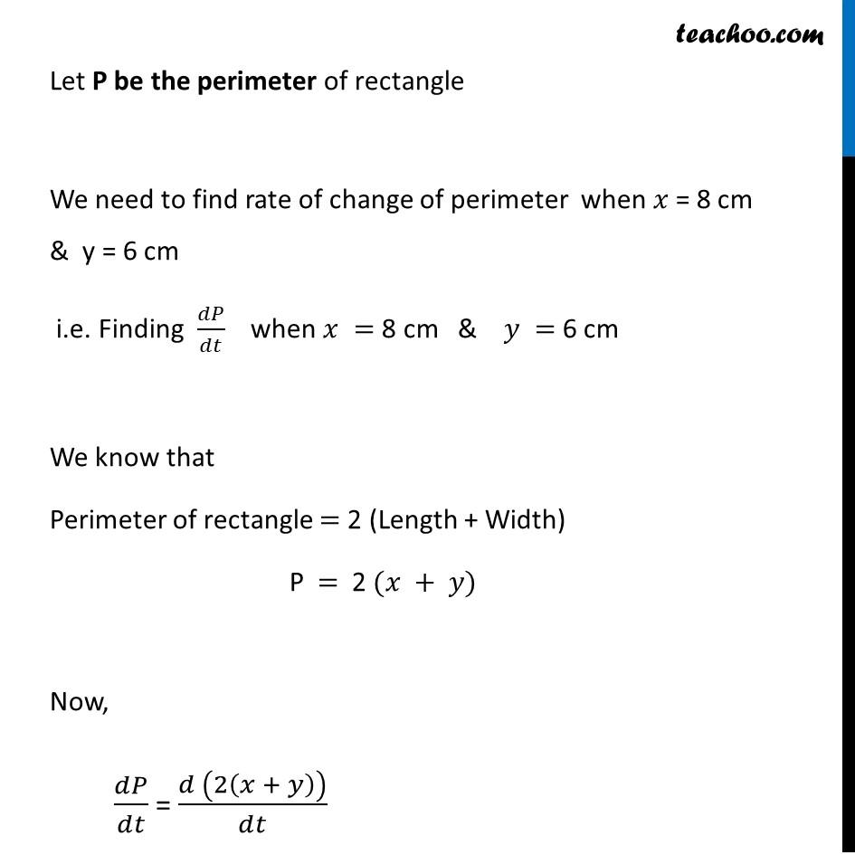 Ex 6.1,7 - Chapter 6 Class 12 Application of Derivatives - Part 2