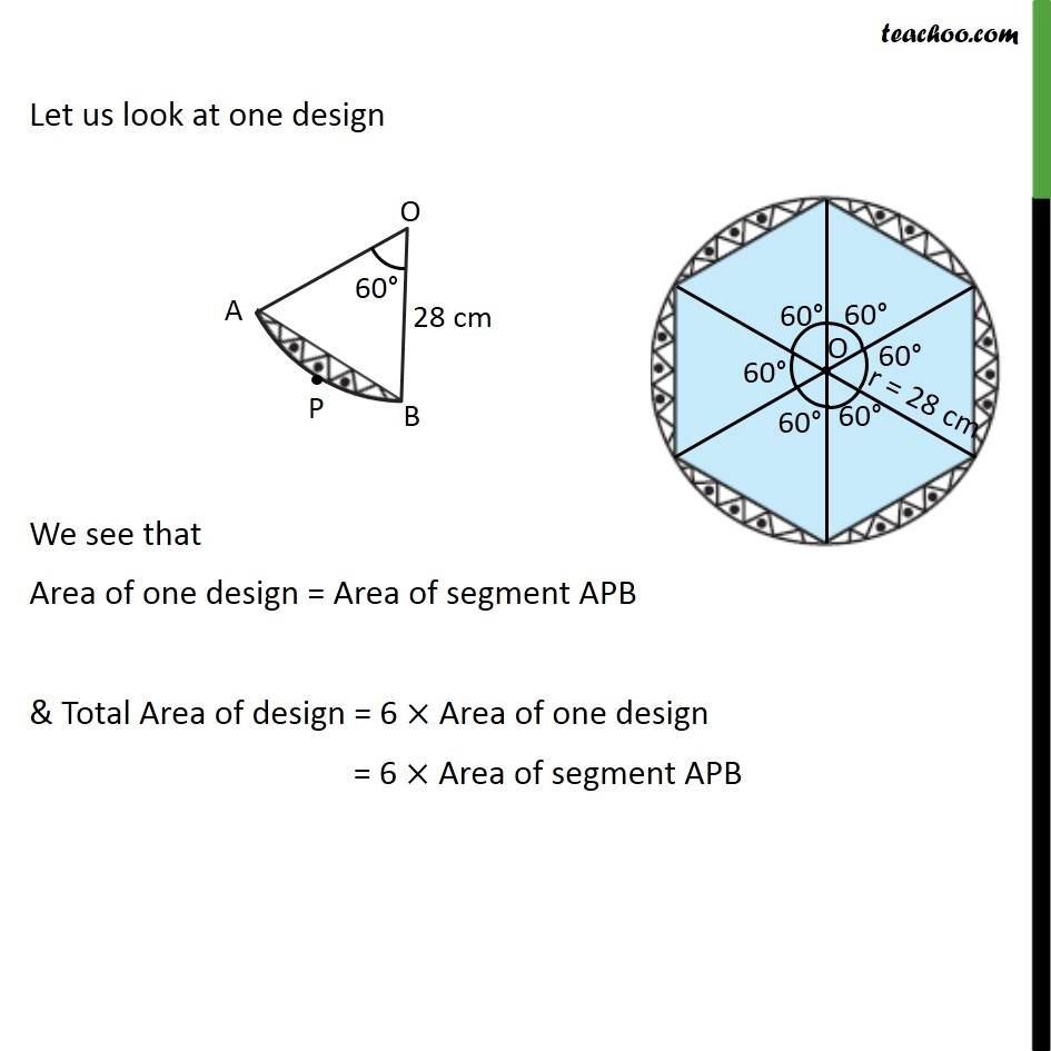 Ex 12.2, 13 - Chapter 12 Class 10 Areas related to Circles - Part 2