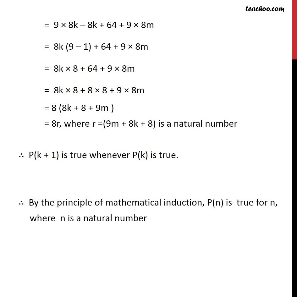 Ex 4.1, 22 - Chapter 4 Class 11 Mathematical Induction - Part 4