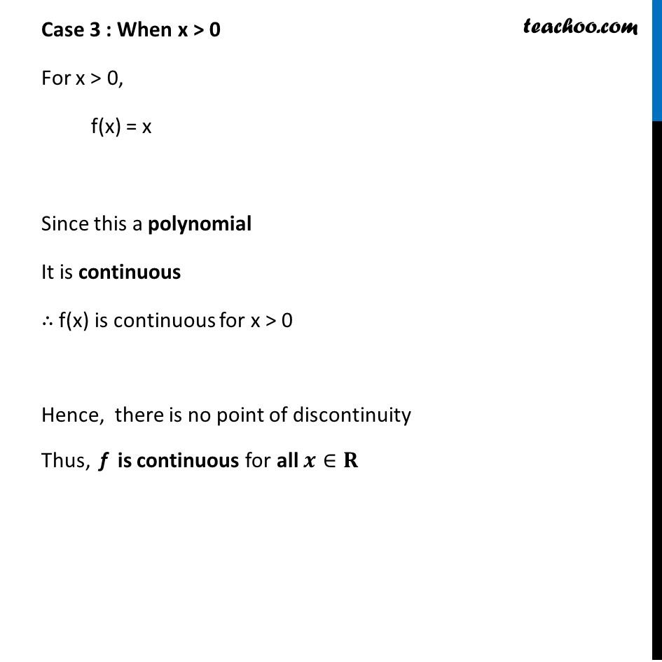 Example 13 - Chapter 5 Class 12 Continuity and Differentiability - Part 4