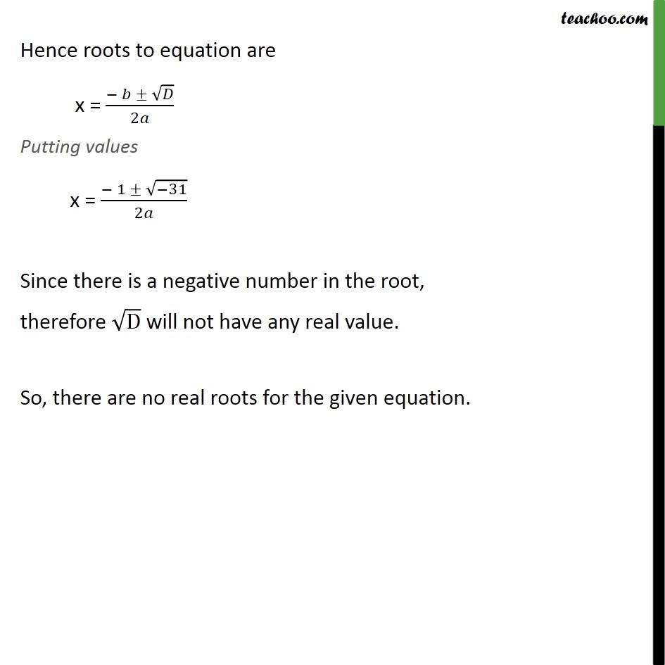 Ex 4.3, 2 - Chapter 4 Class 10 Quadratic Equations - Part 8