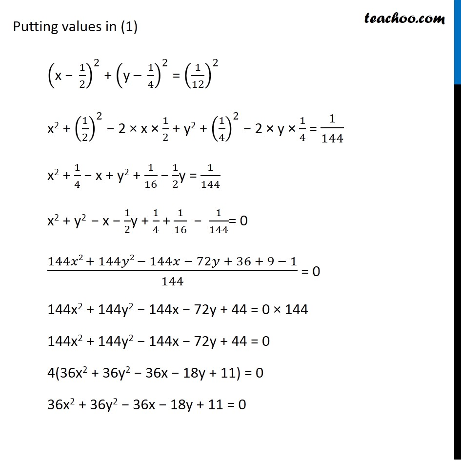 Ex 11.1,  3 - Chapter 11 Class 11 Conic Sections - Part 2