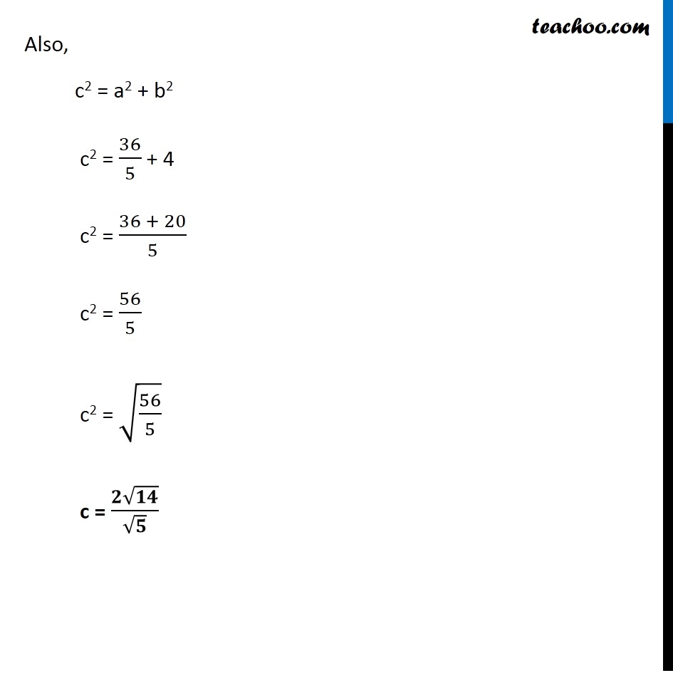 Ex 11.4,  5 - Chapter 11 Class 11 Conic Sections - Part 3
