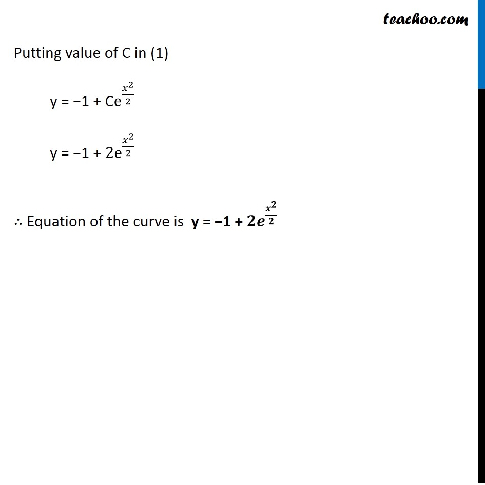 Example 23 - Chapter 9 Class 12 Differential Equations - Part 5