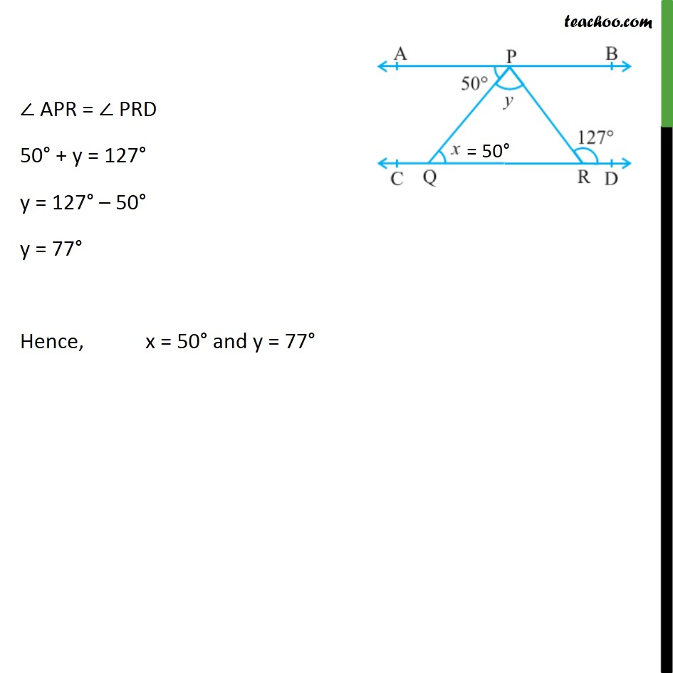 Ex 6.2, 5 - Chapter 6 Class 9 Lines and Angles - Part 2