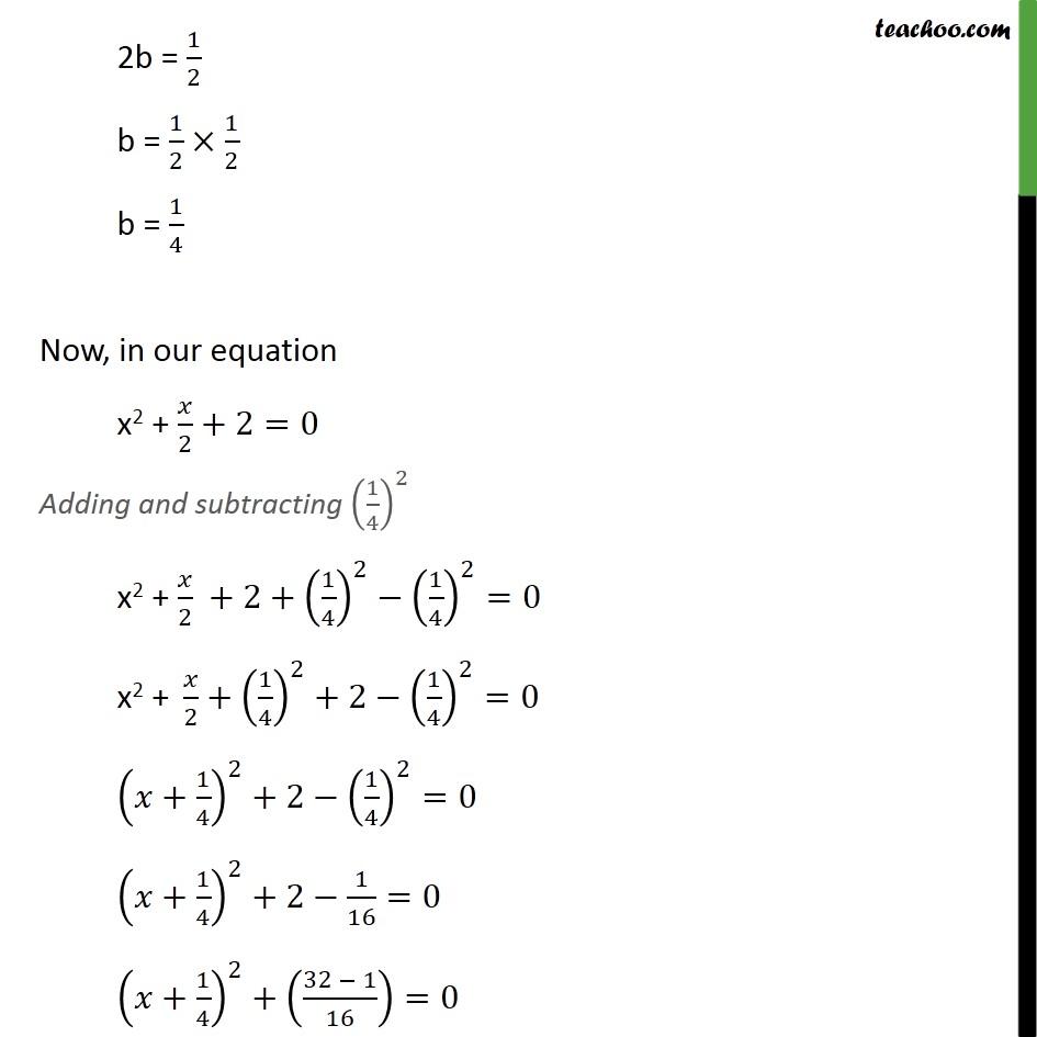 Ex 4.3, 1 (iv) - Chapter 4 Class 10 Quadratic Equations - Part 2