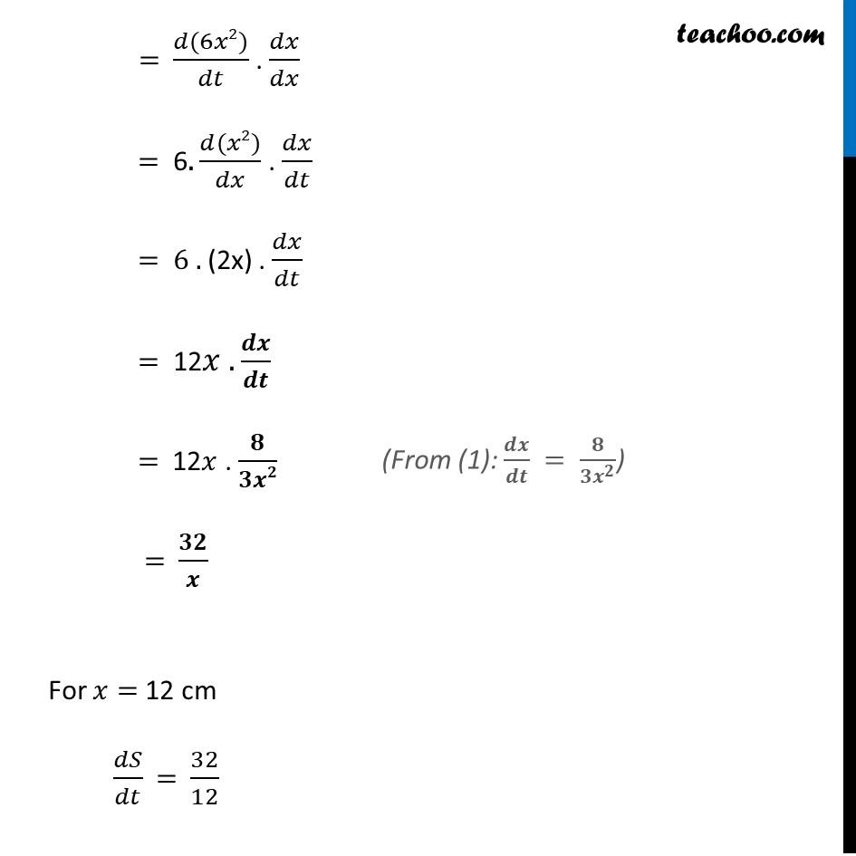 Ex 6.1,2 - Chapter 6 Class 12 Application of Derivatives - Part 4