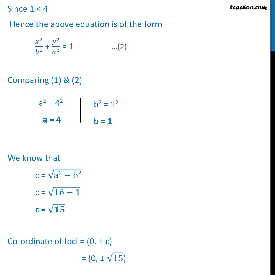 Ex 11.3,  8 - Chapter 11 Class 11 Conic Sections - Part 2