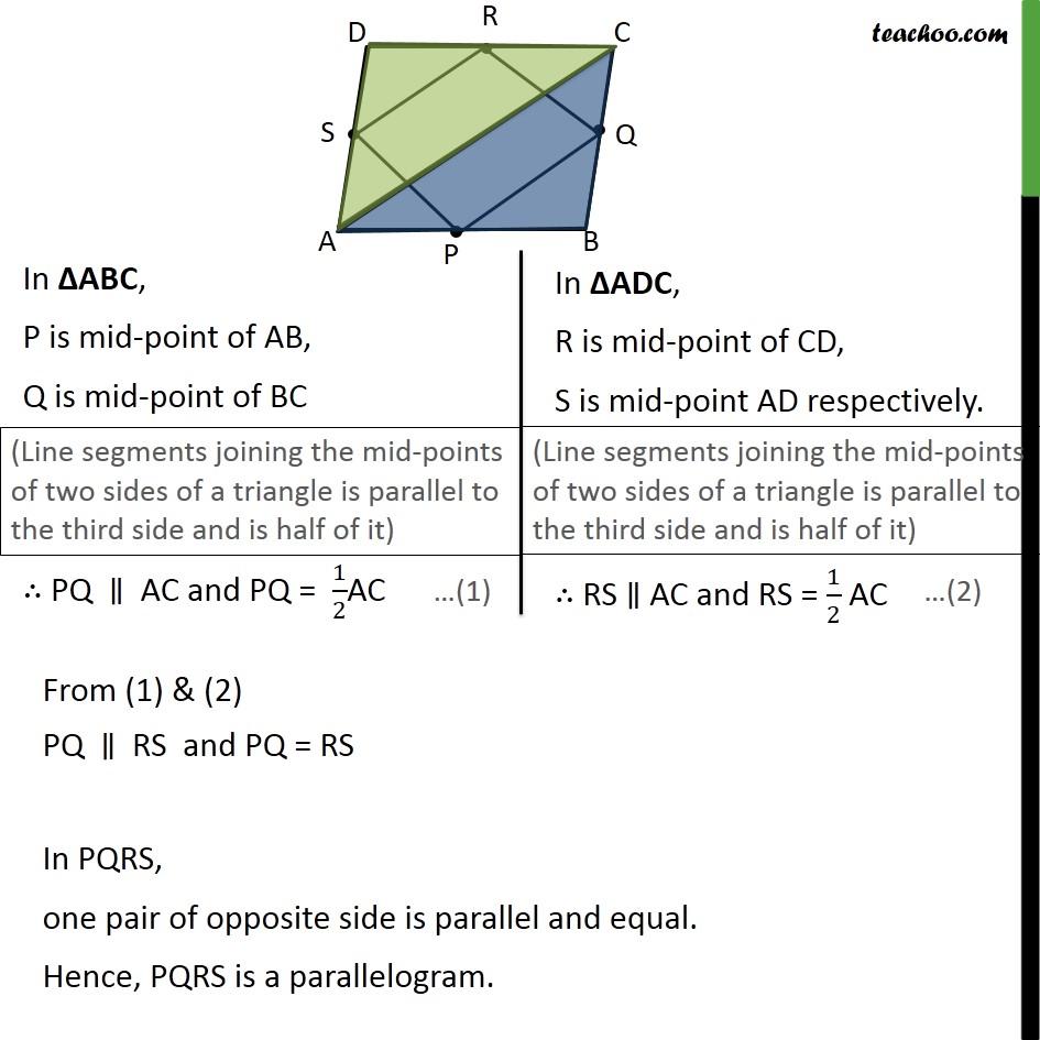 Ex 8.2, 2 - Chapter 8 Class 9 Quadrilaterals - Part 2