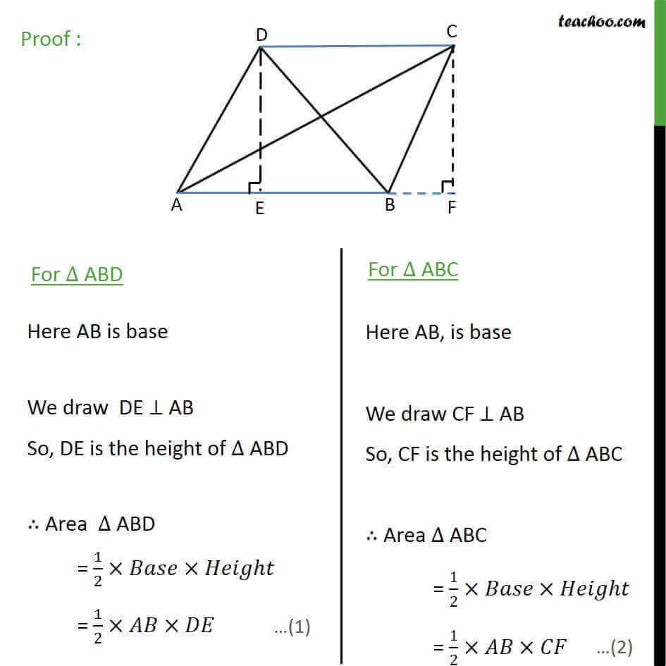 2 Theorem 9.2 - we know that Area of triangle  = 12 Base x Height.jpg