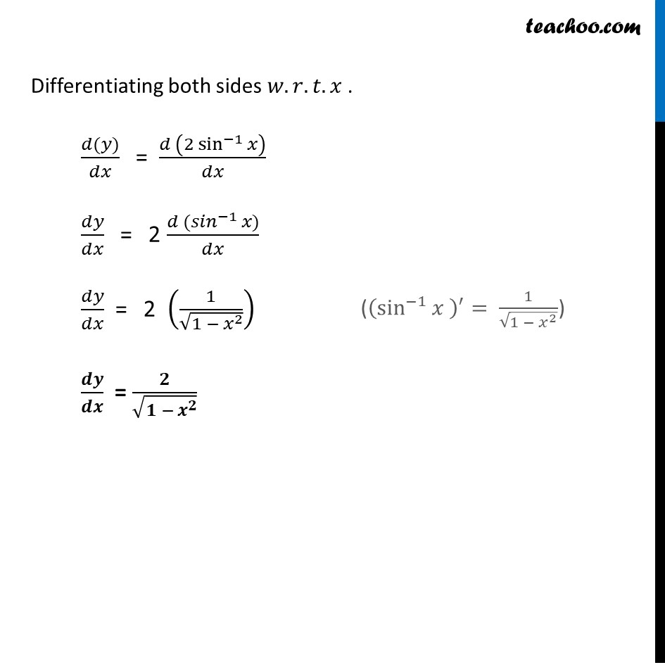 Ex 5.3, 14 - Chapter 5 Class 12 Continuity and Differentiability - Part 2