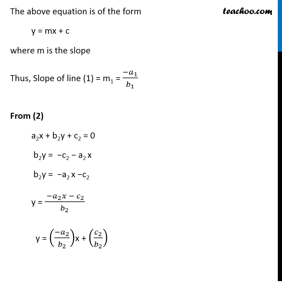 Example 16 - Chapter 10 Class 11 Straight Lines - Part 3