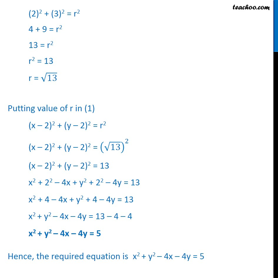 Ex 11.1,  14 - Chapter 11 Class 11 Conic Sections - Part 4