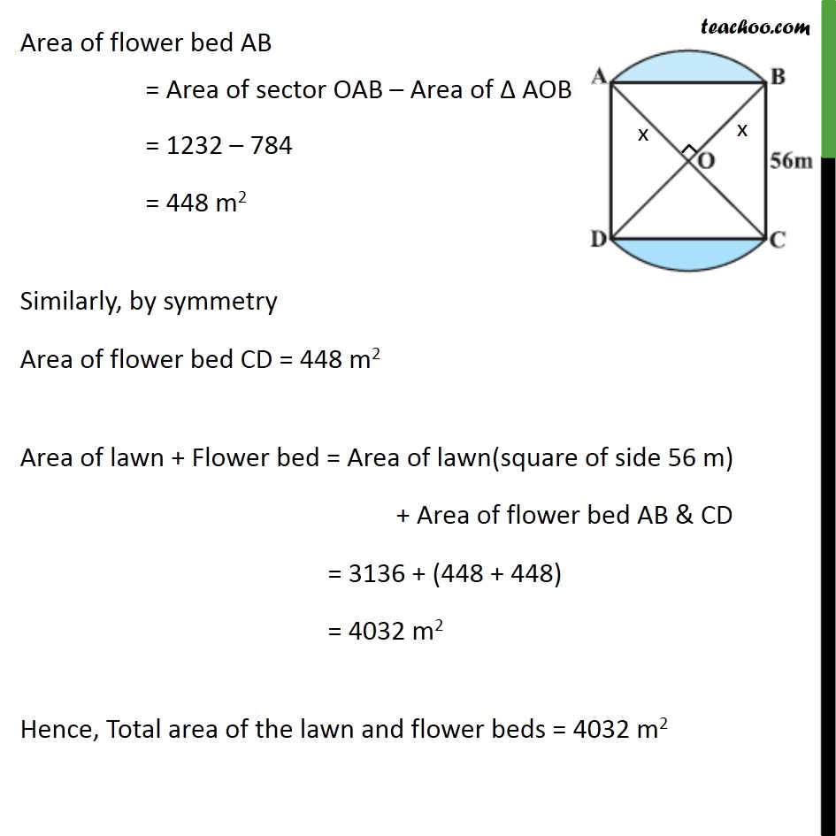 Example 4 - Chapter 12 Class 10 Areas related to Circles - Part 5