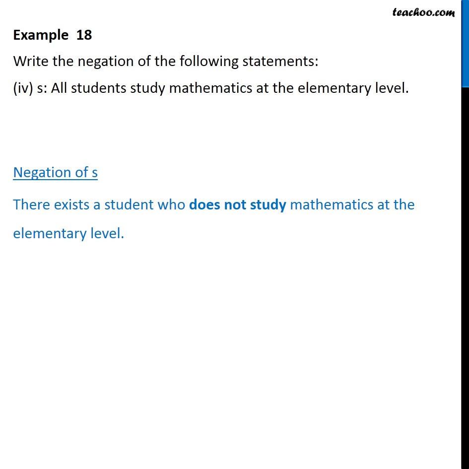Example 18 - Chapter 14 Class 11 Mathematical Reasoning - Part 4
