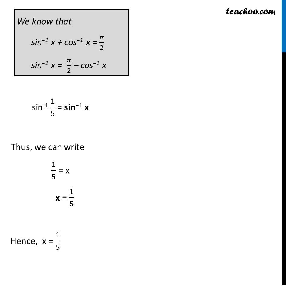 Ex 2.2, 14 - Chapter 2 Class 12 Inverse Trigonometric Functions - Part 2