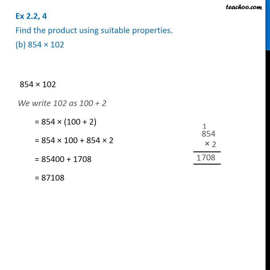 Ex 2.2, 4 - Chapter 2 Class 6 Whole Numbers - Part 2