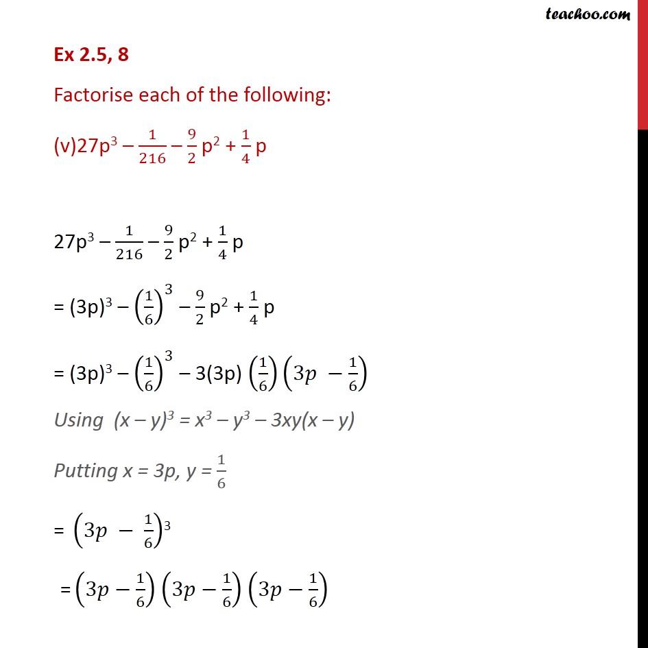 Ex 2.5,8 - Chapter 2 Class 9 Polynomials - Part 5
