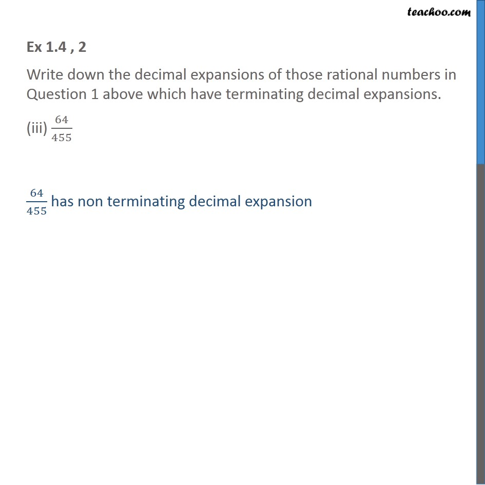Ex 1.4, 2 - Chapter 1 Class 10 Real Numbers - Part 7
