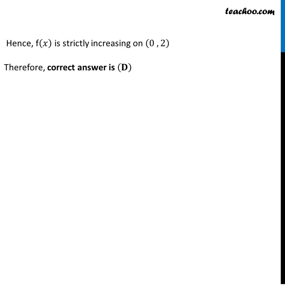 Ex 6.2,19 - Chapter 6 Class 12 Application of Derivatives - Part 3