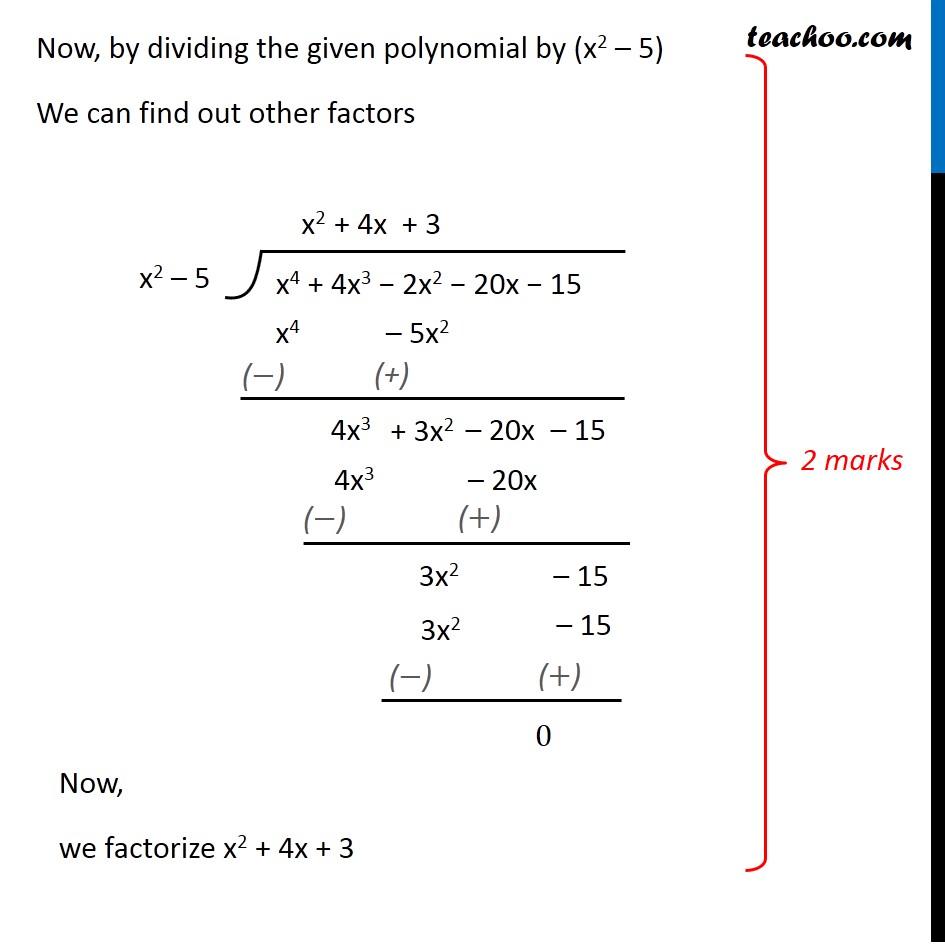 Question 30 - CBSE Class 10 Sample Paper for 2020 Boards - Maths Standard - Part 2