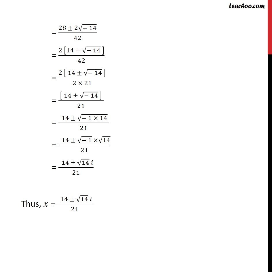 Misc 9 - Chapter 5 Class 11 Complex Numbers - Part 2