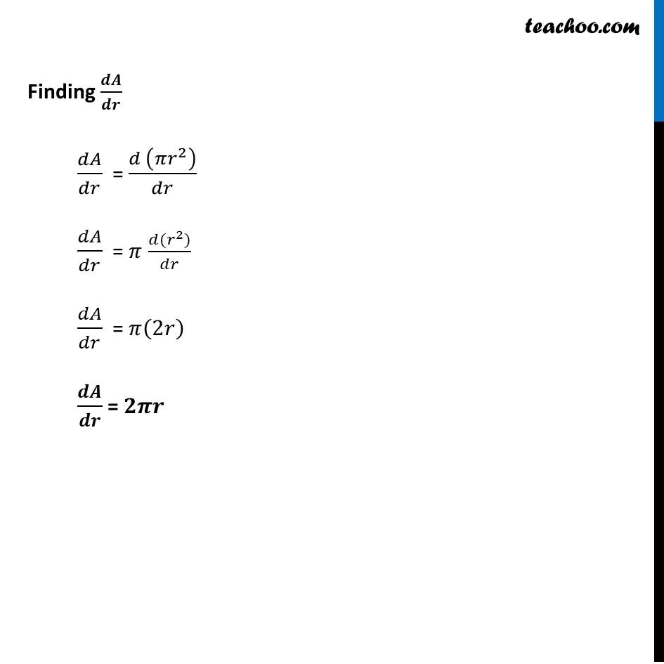 Ex 6.1, 1 - Chapter 6 Class 12 Application of Derivatives - Part 2