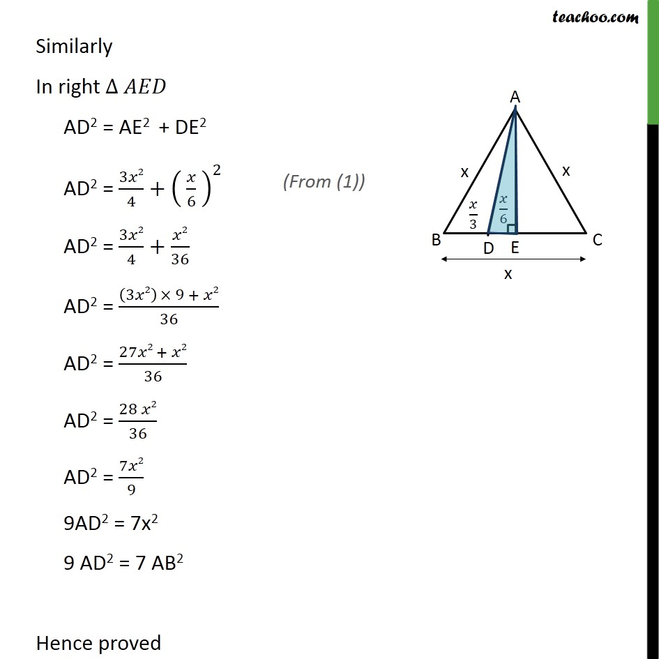 Ex 6.5, 15 - Chapter 6 Class 10 Triangles - Part 5