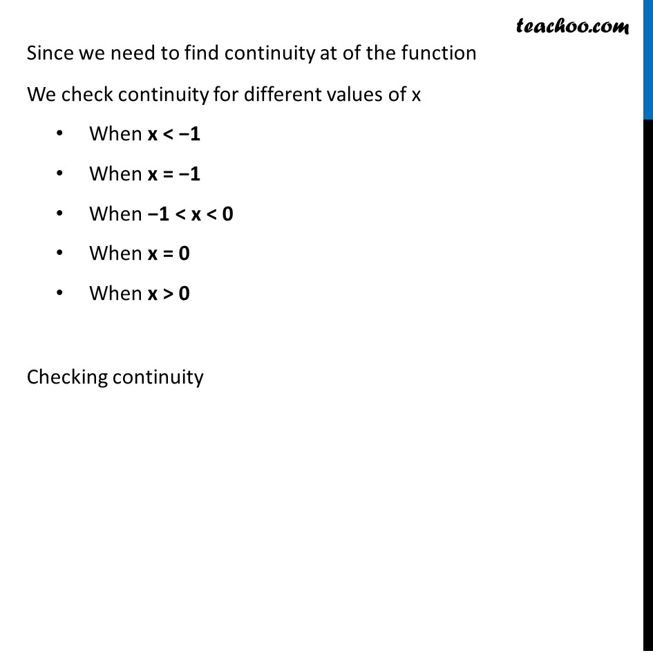 Ex 5.1, 34 - Chapter 5 Class 12 Continuity and Differentiability - Part 4
