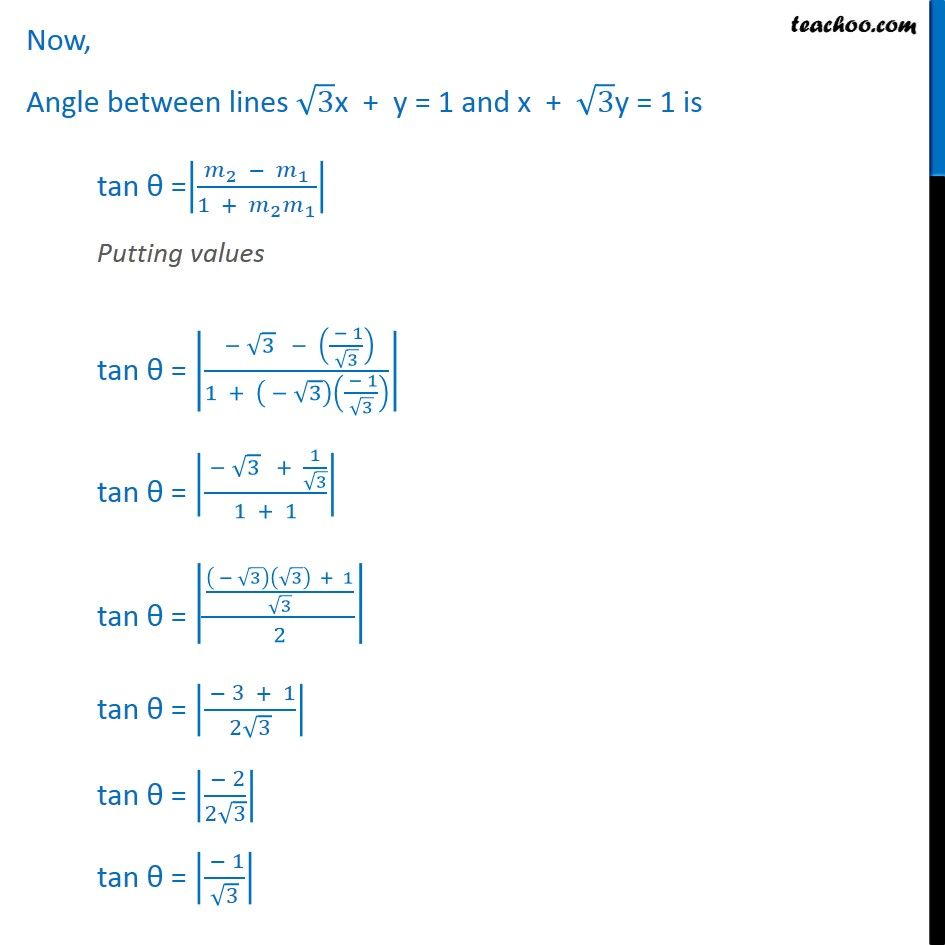 Ex 10.3, 9 - Chapter 10 Class 11 Straight Lines - Part 3