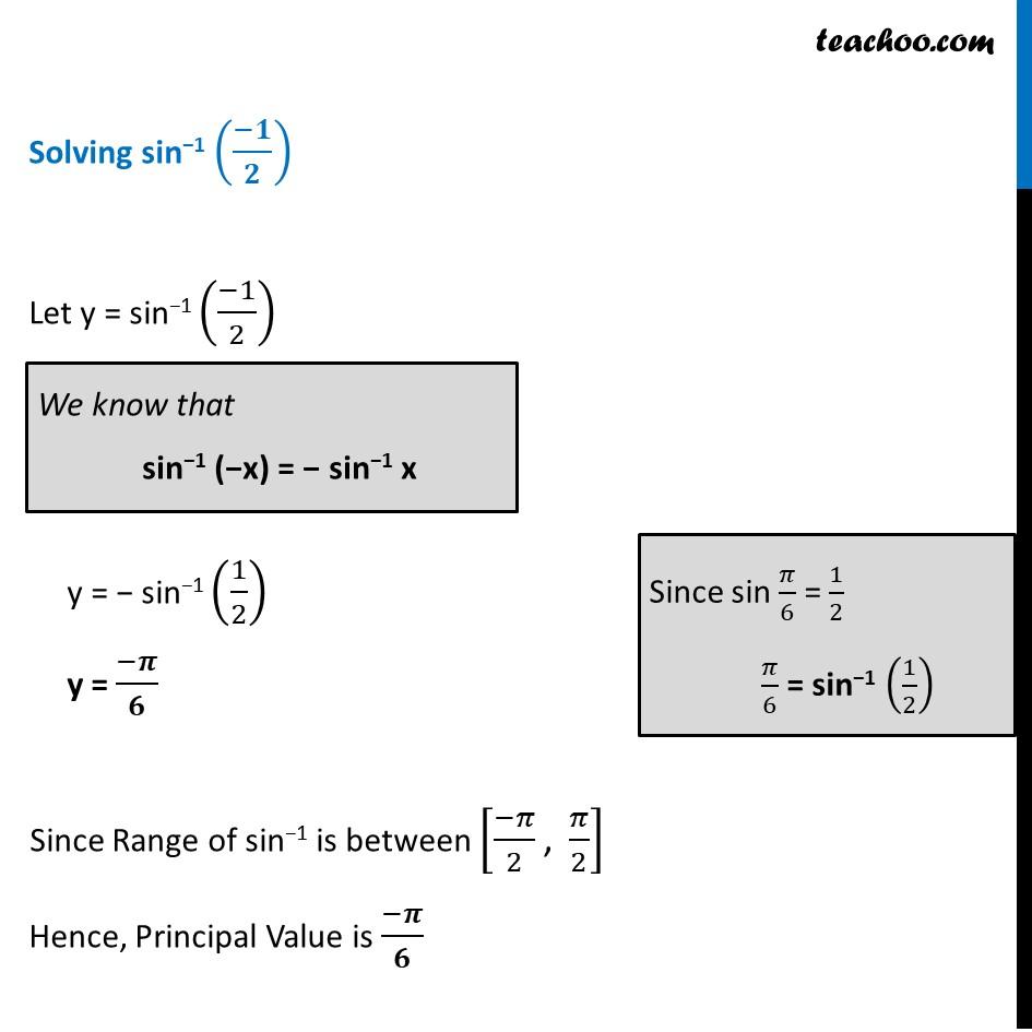 Ex 2.1, 11 - Chapter 2 Class 12 Inverse Trigonometric Functions - Part 3